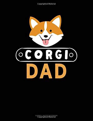Corgi Dad: Cornell Notes Notebook por Jeryx Publishing