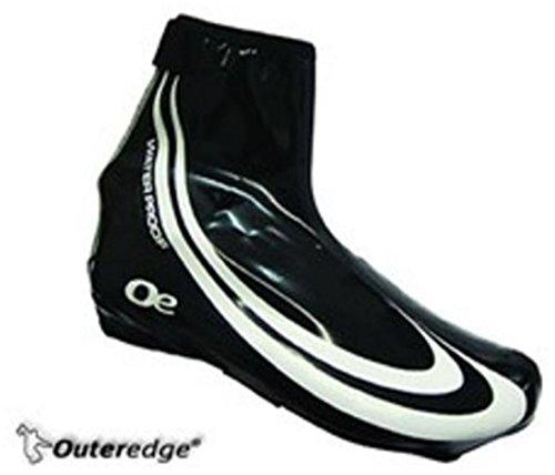 Outeredge Lycra Waterproof Over Shoe Medium Schwarz