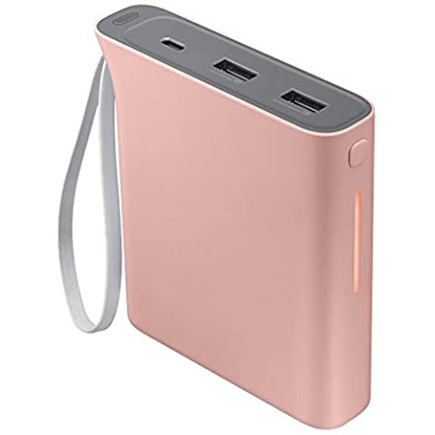 Samsung Evo Rechargeable Battery Pack, 10,200 mAh - Baby Pink