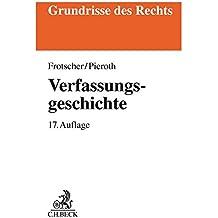 Verfassungsgeschichte (Grundrisse des Rechts)