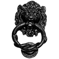 Kirkpatrick Lions Head Twisted Door Knocker