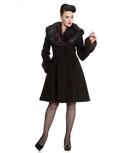Hell Bunny -  Cappotto  - Donna Black 48 (XL)