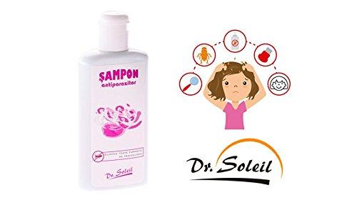 Kopf Läuse und Milben Shampoo - Effektive Lösung gegen Eier & Läuse - Schnell & einfach - Angenehm duftendes Shampoo - 200ml