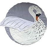 Niedliche runde Teppich schleichenden Baby Play Matte Matratze tragbar Zeichnen Tiere Kinder Bettbezug