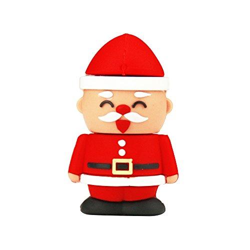 HX® 8GB / 16GB / 32GB Niedliche Cartoon Christmas Stil USB 2.0 Speicherstick Datens Memory Stick USB Stick Flash Drive Pendrive Geschenk (32GB)