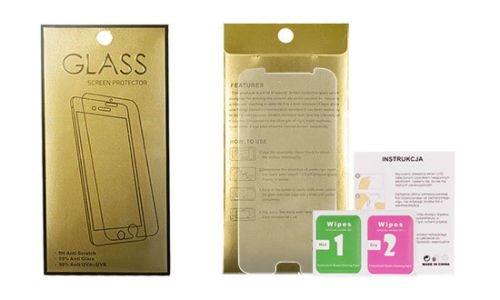 Gold Schutzfolie Bildschirm Folie Panzerglas 9h Schutzglas Für Alcatel Shine Lite