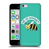Head Case Designs Offizielle David Olenick Gelbes Jacket Tiere Ruckseite Hülle für iPhone 5c