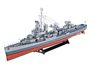 Revell 1:144 Scale Fletcher-Class Destroyer WWII