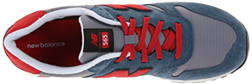 New Balance Rip-stop Mesh 565, Sneakers basses homme bleu-rouge