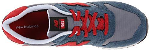 New Balance 565 Herren Sneakers Blau (Blue/Red)