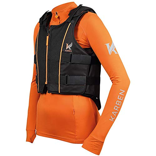 Shires Childs Karen Body Protector Medium - Regular Black - Pferd Body Protector