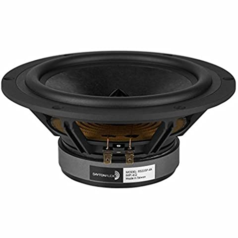 "Dayton Audio RS225P-4A 8"" Reference Paper Woofer 4 Ohm"