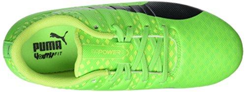 Puma Evopower Vigor 3 Fg Jr, Scarpe da Calcio Unisex – Bambini Verde (Green Gecko-puma Black-safety Yellow 01)