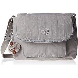 Kipling - Garan, Shoppers y bolsos de hombro Mujer, Grey (N Slate Grey), 35x25.5x17 cm (W x H L)