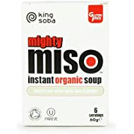 King Soba Org Miso Soup Tofu Ginger 60 g (order 10 for trade outer)