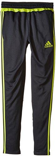 adidas Youth Tiro 15Training Hose, Unisex, Dark Grey/Semi Solar Yellow