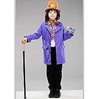 Disfraz de Willy Wonka estilo para niños talla Large 8-10 years