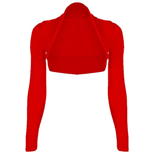 Runway splash donna Bolero Rosso - Rosso