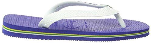 Havaianas Tongs Garçon/Fille Brasil Logo Bleu Marine