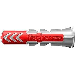 fischer - Cheville bi-matière et multi-matériaux DUOPOWER 5x25 / Boîte de 100