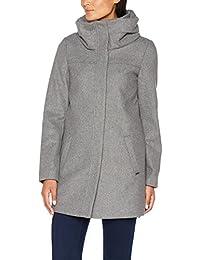 TOM TAILOR Denim Damen Mantel Wool Coat with Big Collar