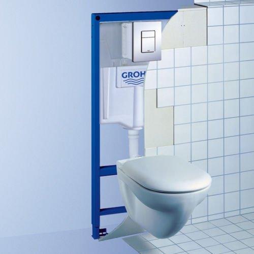 Grohe Rapid SL 5in1WC Rahmen + laufen Wandhängendes WC Pfanne mit Soft Close seat38827000
