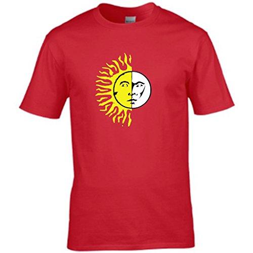 S Tees Herren T-Shirt Rosso