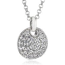 ESPRIT Jewels Damen-Halskette 925 Sterling Silber Nugget glam app.42+3cm  ESNL92637A420 a3c0c320f3