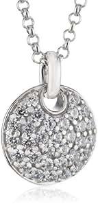 Esprit - ESNL92637A42 - Nugget Glam - Collier avec Médaillon Femme - Argent 925/1000 6.2 gr - 45 cm