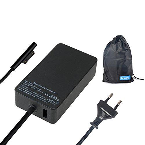 iGears-Pro 65W 15V 4A Ersatz AC Adapter Laptop Notebook Tablet Netzteil Ladegerät Charger für Microsoft Surface Book pro 4 i5/i7
