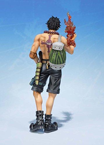 Bandai Tamashii Nations S.H.FiguartsZERO Portogas.D.Ace 5th Anniversary Edition One Piece Action Figure 7