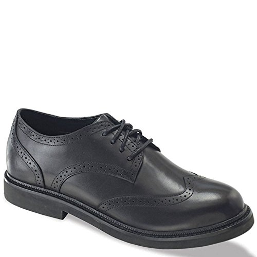 Apex Herren Wingtip Oxford Oxford Schuhe, Schwarz (Black Full Grain Leather), 38.5 EU 3E (Oxford Wingtip Schwarz)