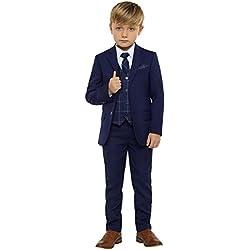 Paisley of London - Traje - para niño azul azul marino 11 Años