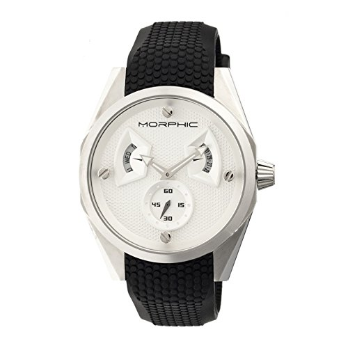Morphic Reloj con movimiento cuarzo japonés Mph3401 44 mm