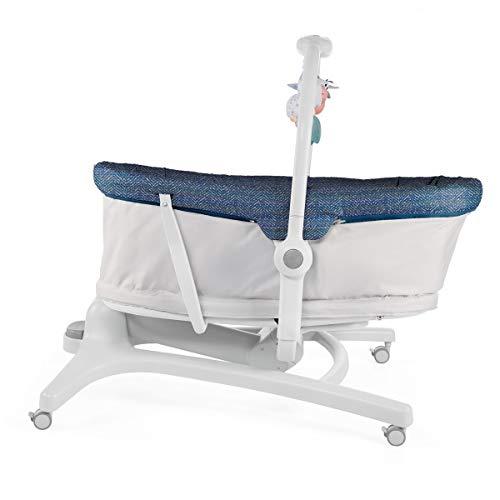 Imagen para Chicco Baby Hug 4en1 - Sistema multifunción: moisés, hamaca, trona y silla, regulable en altura, color azul (Spectrum)