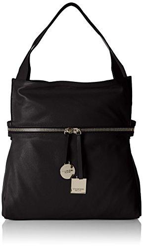 Tosca Blu - JASMINE TEA, Borsa shopper Donna Nero (Schwarz (BLACK C99))