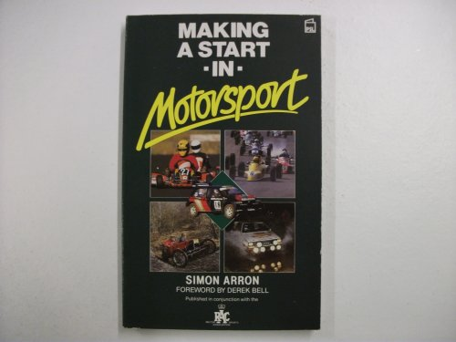 Making a Start in Motor Sport