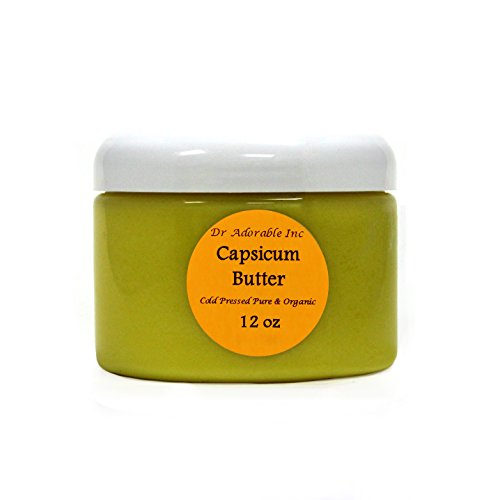 Capsicum Butter Cold Pressed Pure & Organic 12 Oz