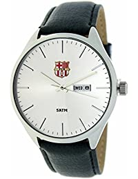 b7c6f31f8a8d9 RADIANT Reloj analógico de caballero F.C.BARCELONA - Correa de piel -  Calendario - BA-