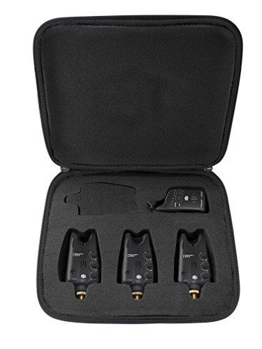 JRC Radar DS3 Set 3+1 Bissanzeiger + Empfänger Bissanzeigerset Bite Indicator