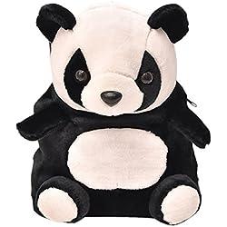 Happy Cherry - Mochila Infantil de Oso Panda Bolsa Guardería Bolso Escolar para Niños Niñas Bebés 2 - 5 Años