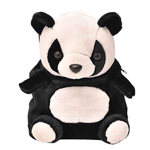 Happy Cherry - Mochila Infantil de Oso Panda Bolsa Guardería Bolso Escolar para Niños Niñas Bebés...