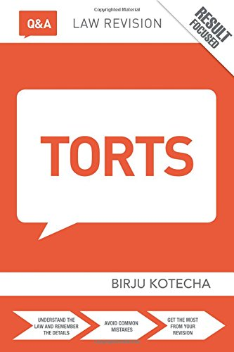 Q&A Torts (Questions and Answers)