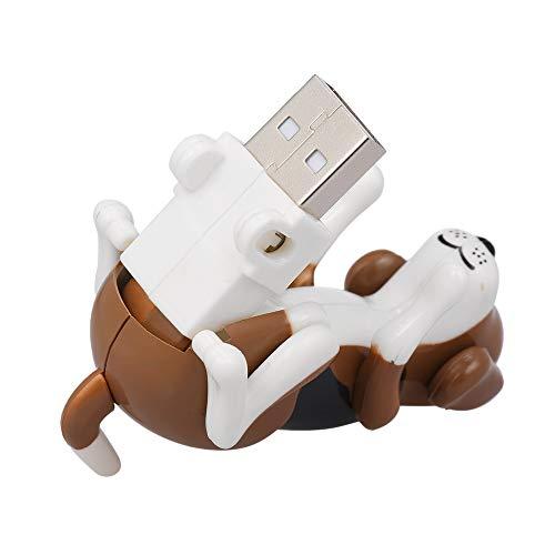 Gamogo Mini Lustiger humpender Hund USB angetriebener Rascal-Hund Elektronischer Hund Spielzeug-tragbarer Hundespielzeug druckentlastendes Spielzeug (Rascal Hund Spielzeug)