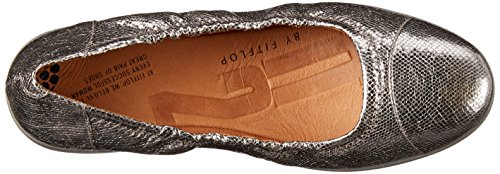 FF2TM By FitFlopTM Chaussures F-popâ Ballerine Chaussures étain PEWTER