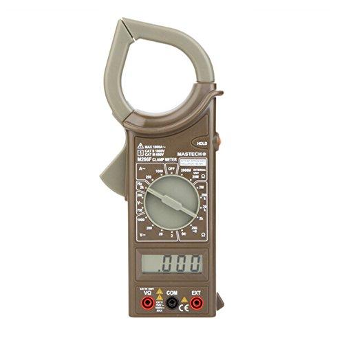 MASTECH M266F Medidor Digital de pinza amperímetro voltímetro medidor de aislamiento óhmetro Diodo w/Frecuencia & prueba