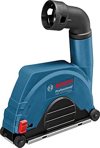 Bosch Professional GDE 115/125 FC-T Absaughaube, 115 mm Trennscheiben, Durchmesser 20 mm maximal Schnitttiefe, werkzeuglose Montage, 700 g, 1600A003DK