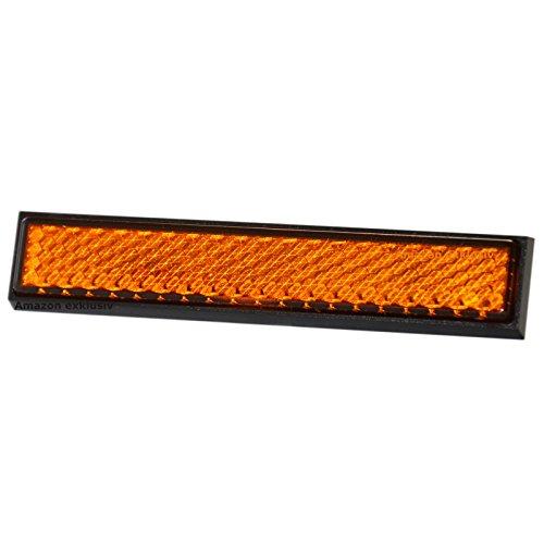 Mini Stick Reflektor Rückstrahler orange 9 cm HR Art. 139008