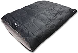 Andes Alma 400 3-4 Season Double Camping Sleeping Bag Black