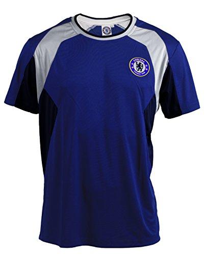 Trikot Chelsea-Offizielle Kollektion-Größe Erwachsene Herren L Blau - blau